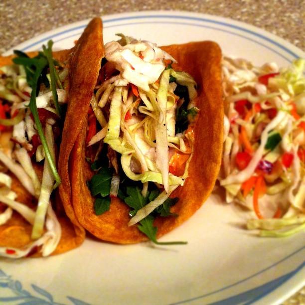 Tilapia Fish Tacos Tilapia fish tacos