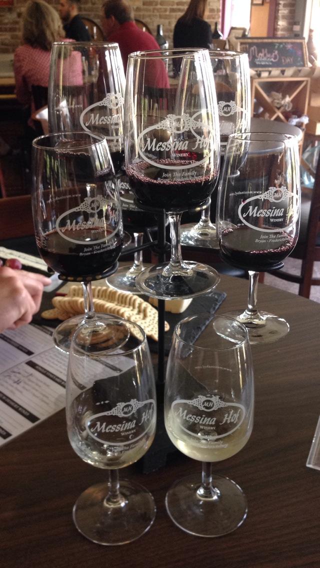 Messina Hoff Wine Tasting